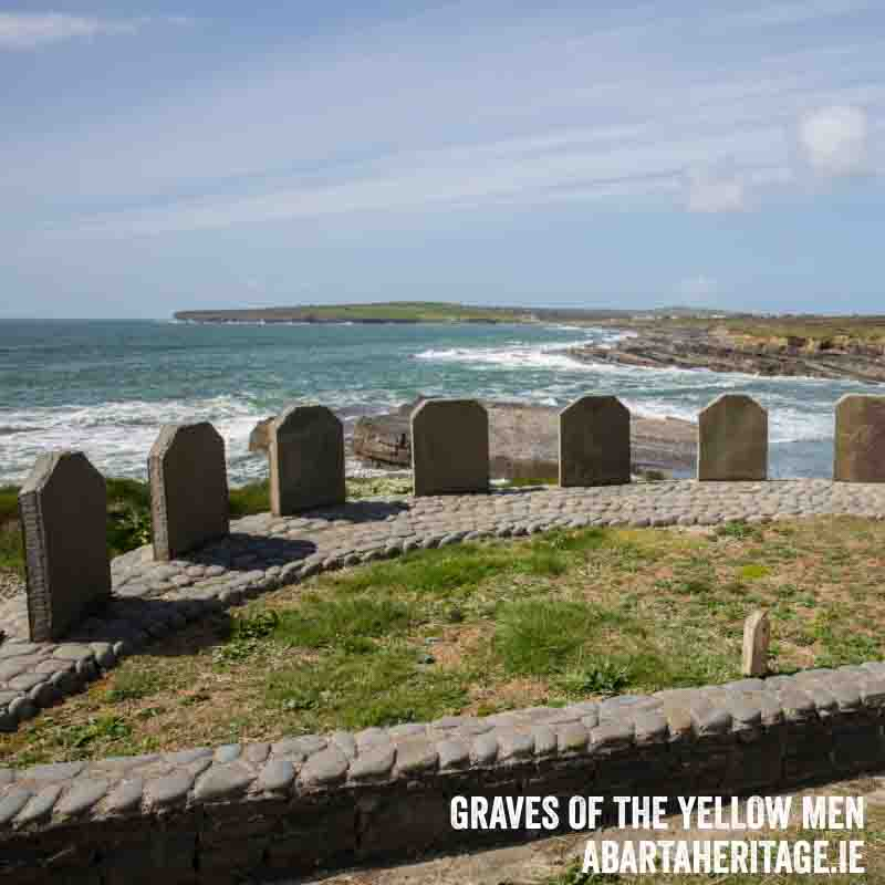 Graves of the Yellow Men Loop Head Heritage Trail