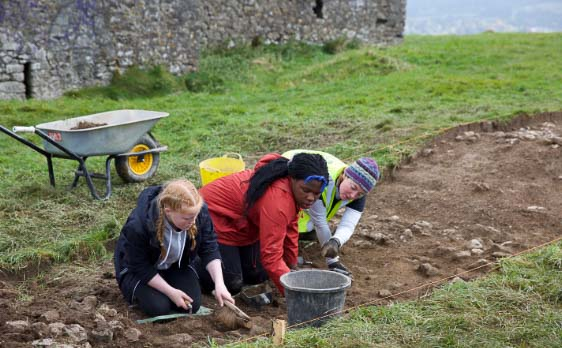 Community Archaeology in Action with Abarta Heritage