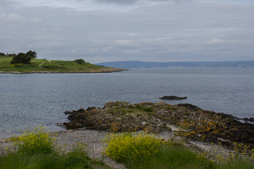 Bangor Christian Heritage Trail – the view from Smelt Mill Bay