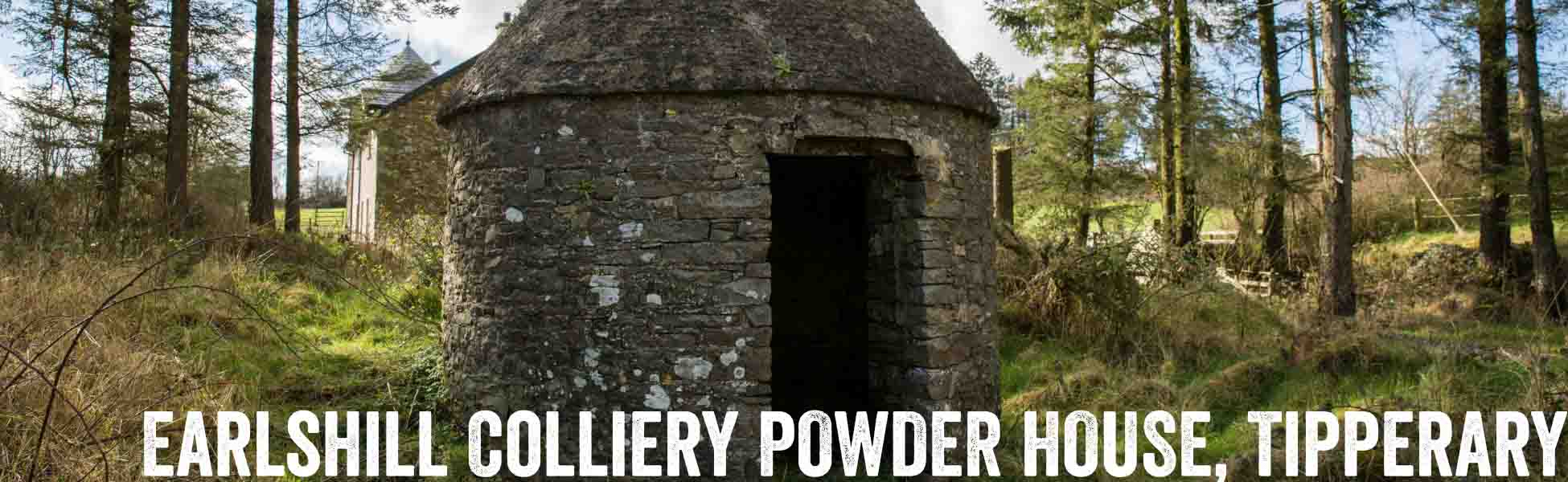 Earlshill Colliery and Powder House, Slieveardagh, County Tipperary