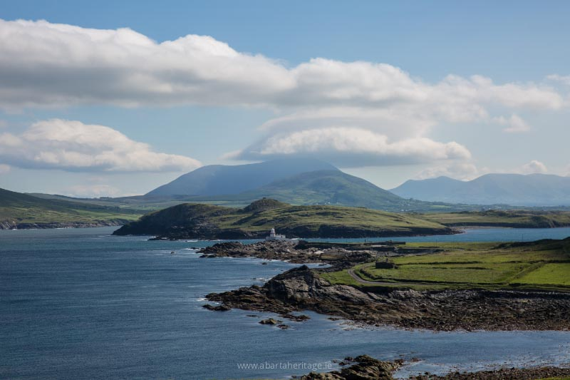 The landscape of Valentia Island