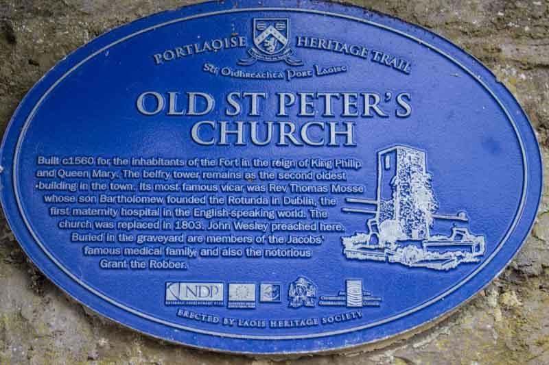 St Peters Church Portlaoise