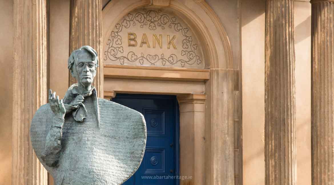 William Butler Yeats a feature of our Sligo Town Trails