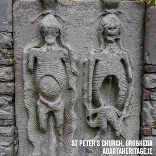 Cadaver Tomb St Peters Church Drogheda Boyne Valley Audio Guide