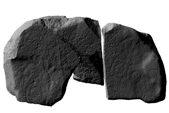 Image taken from the 3D model produced from the laser scanning by the Discovery Programme