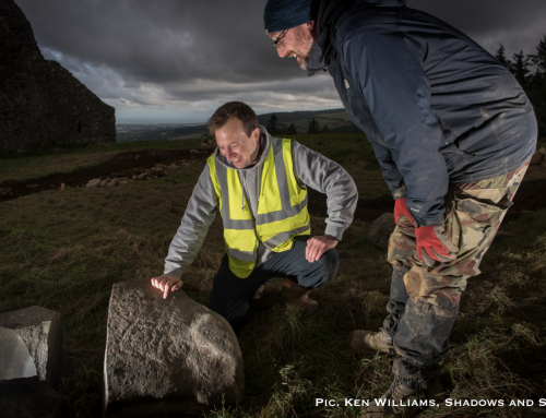 Megalithic Art Discovered at the Hellfire Club