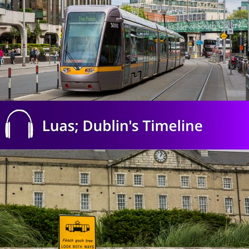 Luas; Dublin's Timeline Audio Book
