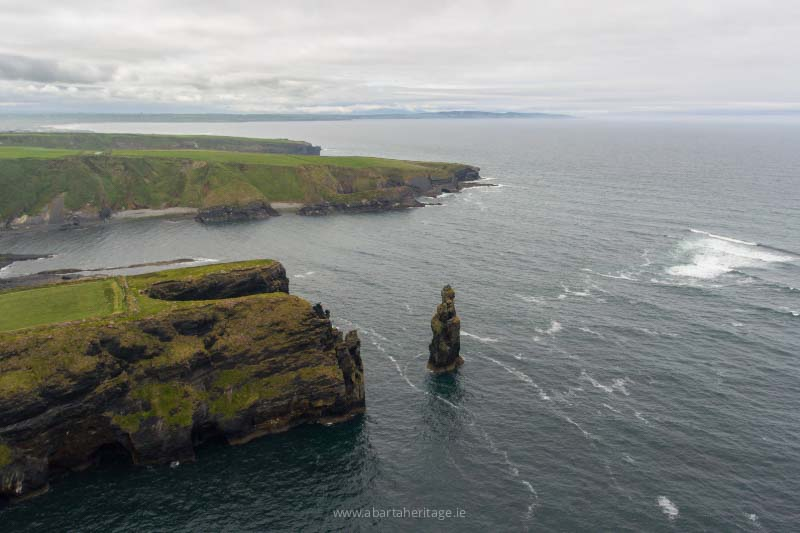 The Bromore Cliffs a real highlight of the Wild Atlantic Way in Kerry