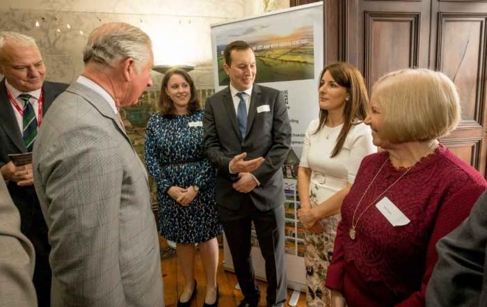Meeting Prince Charles