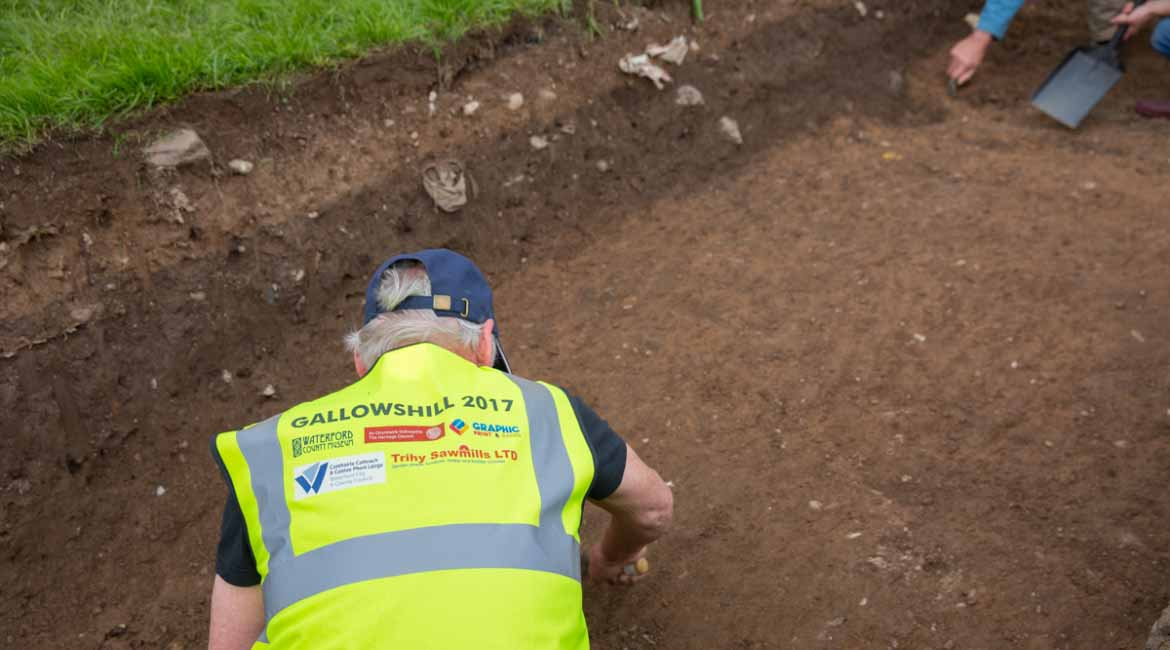 Gallows Hill Dungarvan Archaeological Dig