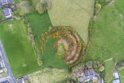 Kilfinane Motte Aerial