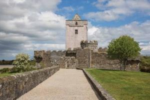 The beautiful Doe Castle in County Donegal Wild Atlantic Way