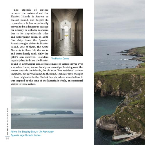 Wild Atlantic Way Guidebook Sample Page 3