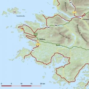 Wild Atlantic Way Guidebook Sample Maps