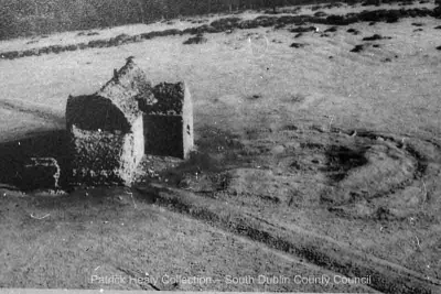 Historic image of the Hellfire Club from the air