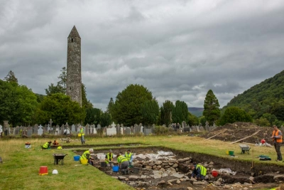 Amplify Archaeology Podcast Glendalough