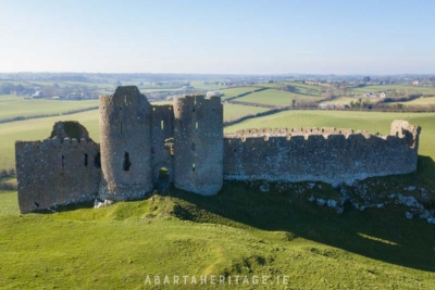 Castleroche or Roche Castle is one of Ireland's best thirteenth century castles.