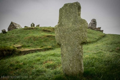 Cross at Old Banagher Church Derry