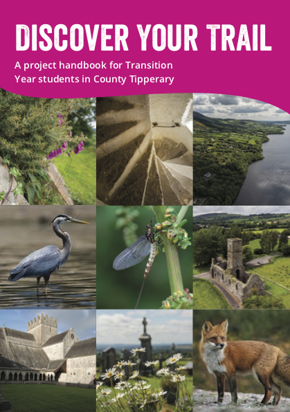 Discover Your Trail booklet designed for Transition Year Students.