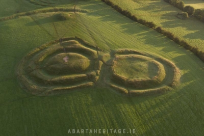 The Forradh on the Hill of Tara. Possibly one of Ireland's first castles
