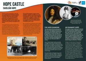 Hope Castle, County Monaghan - Signage Design