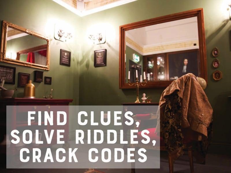 Robert Boyle Escape Room Design - interior view 2