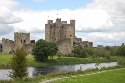 Trim Castle perhaps one of Irelands most famous castles