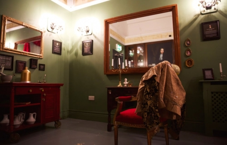 Robert Boyle Escape Room interior view