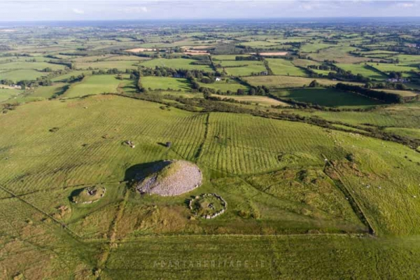 Passage tombs at Loughcrew County Meath