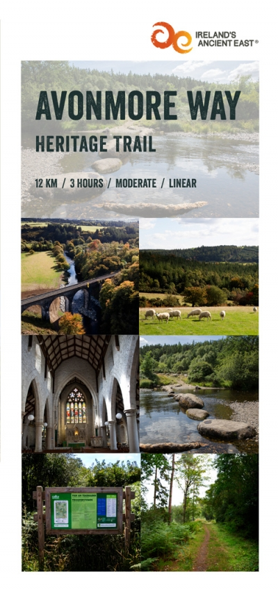Avonmore Way Heritage Trail - Brochure Design cover