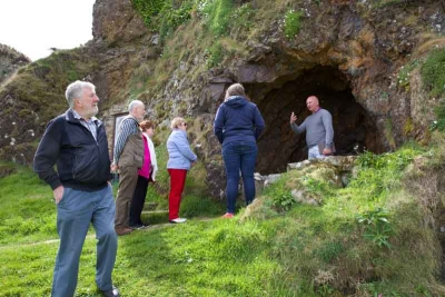 The Malin Well Conservation Group at the Wee House of Malin