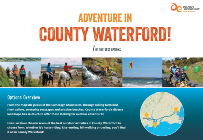 Waterford Trail Itinerary Cover