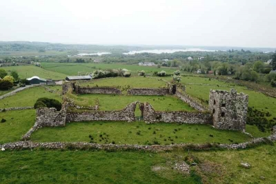 Aerial view of Moygara Castle Sligo one of the new inductees into Adopt a Monument 2019