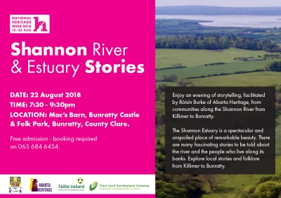 Shannon Stories Flyer