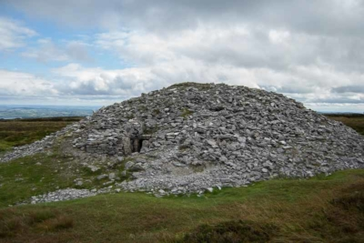 The megalithic tombs at Carrowkeel are some of the finest examples in Ireland
