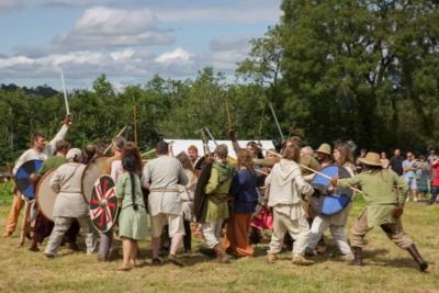 Battle Begins at Viking Woodstown