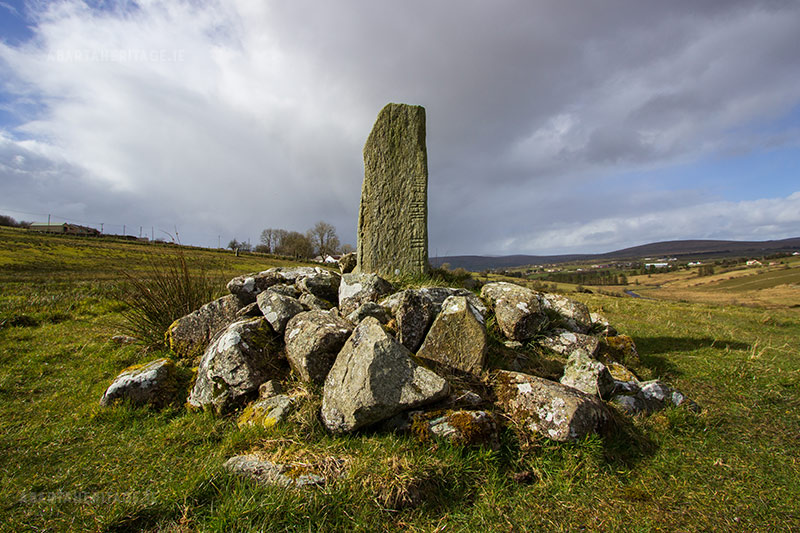 Clough Ogham Stone Tyrone